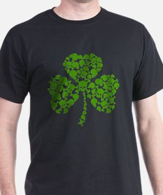 Shamrock Skulls St Pattys Day T-Shirt