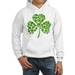 Shamrock Skulls St Pattys Day Hooded Sweatshirt