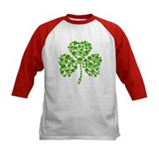 Shamrock Skulls St Pattys Day Tee