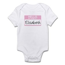 Hello, My Name is Elisabeth - Infant Bodysuit
