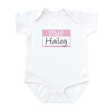 Hello, My Name is Hailey - Infant Bodysuit
