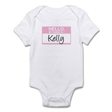 Hello, My Name is Kelly - Infant Bodysuit