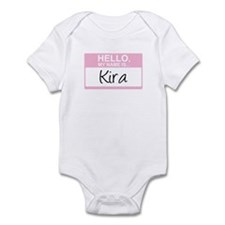 Hello, My Name is Kira - Infant Bodysuit