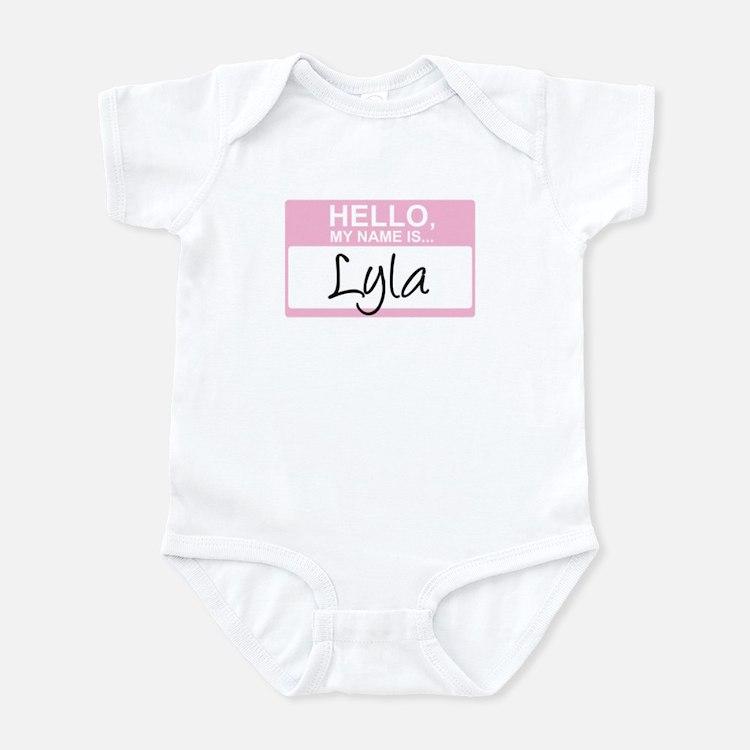 Hello, My Name is Lyla - Infant Bodysuit