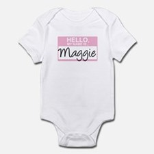 Hello, My Name is Maggie - Infant Bodysuit