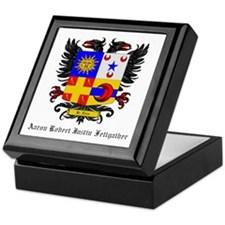 Unique Grey Keepsake Box