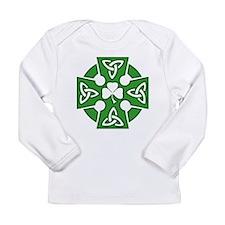 Celtic cross Long Sleeve Infant T-Shirt