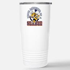 Navy Seabee 2 Travel Mug