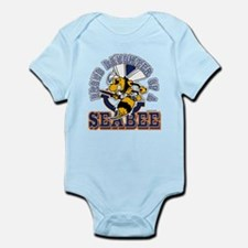 Navy Seabee 2 Infant Bodysuit