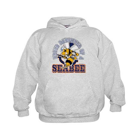 Navy Seabee 2 Kids Hoodie