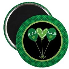 Irish Party Balloon St Patrick's Day Magnet