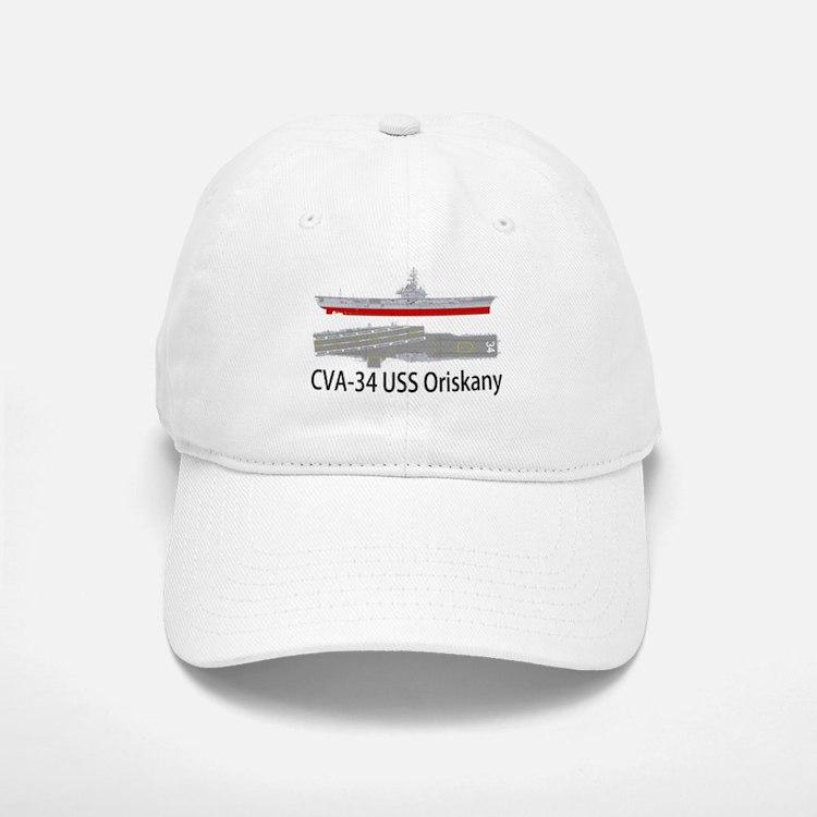 USS Oriskany CV/CVA-34 Baseball Baseball Cap