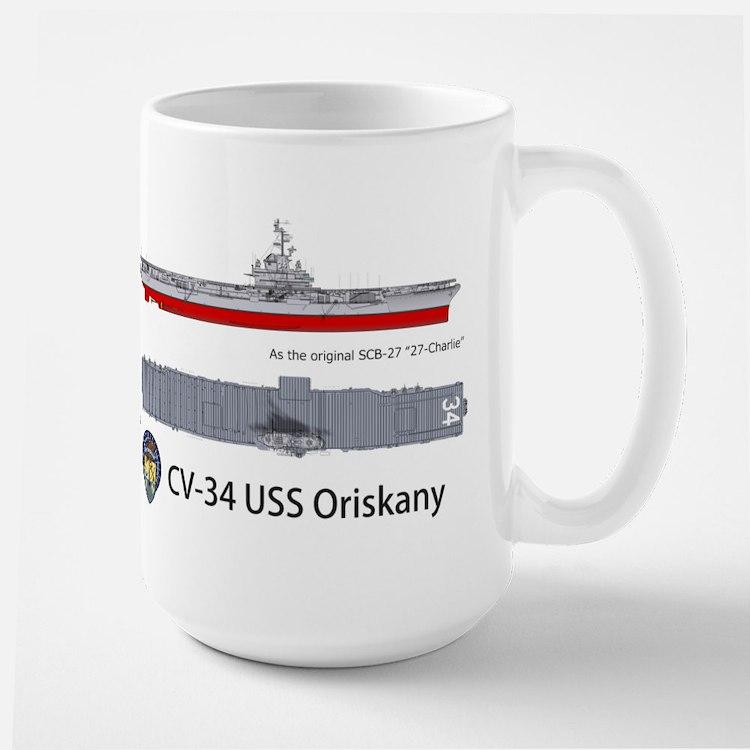 USS ORiskany CV-34/CVA-34 Mug