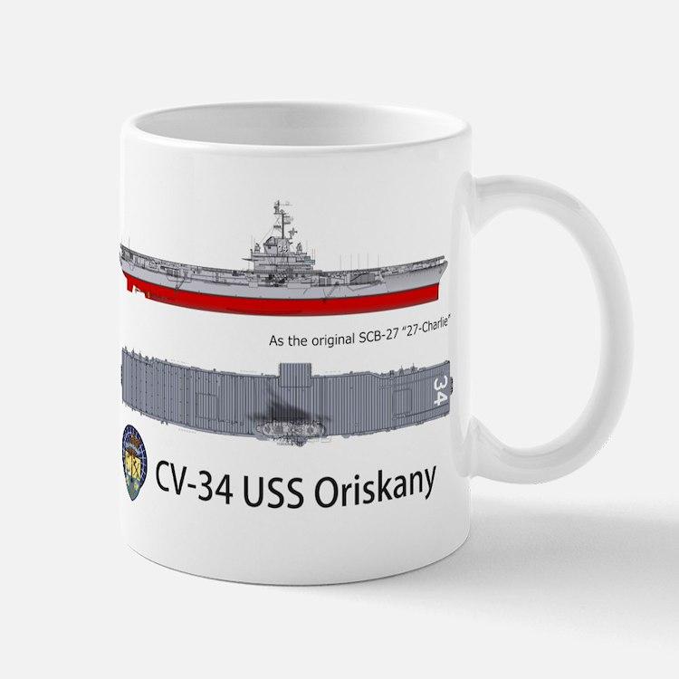 USS Oriskany CV/CVA-34 Mug