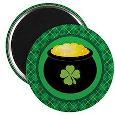 Leprechaun Gold St Patrick's Day Magnet