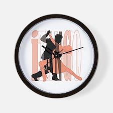 iTANGO by DanceBay.com Wall Clock