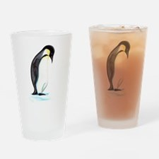 Emperor Penguin Drinking Glass