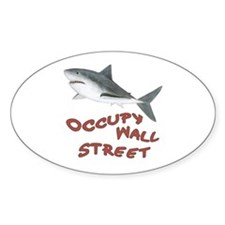 Shark - Occupy Wall Street Decal