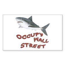 Shark - Occupy Wall Street Decal