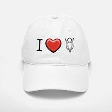 I love V8 Baseball Baseball Cap