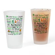 St. Patrick's Drinking Glass