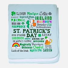 St. Patrick's baby blanket