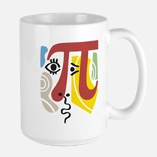 Pi Symbol Pi-casso Mug