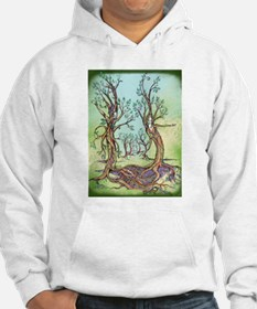 Dancing Forest Coloured Hoodie
