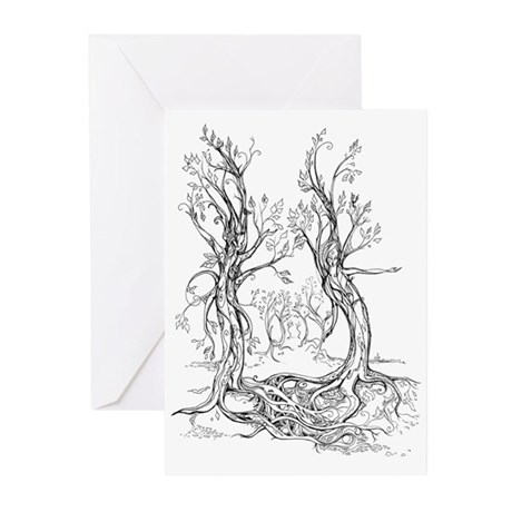 Dancing Forest Greeting Cards (Pk of 20)