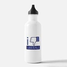 I unlike Liberals Water Bottle