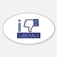 I unlike Liberals Decal