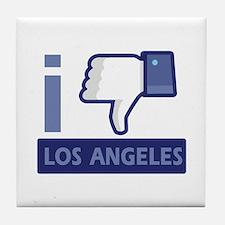 I unlike Los Angeles Tile Coaster