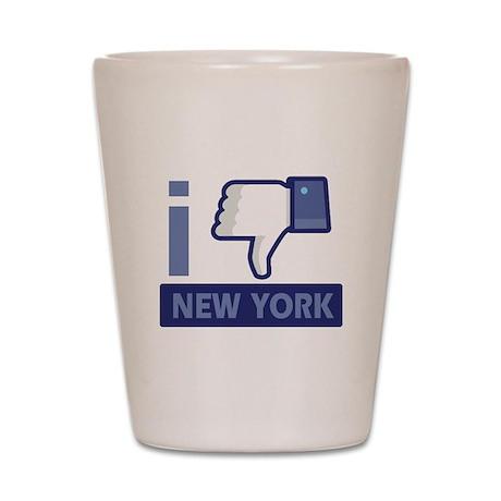 I unlike New York Shot Glass