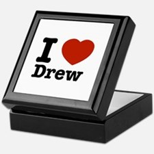 I love Drew Keepsake Box