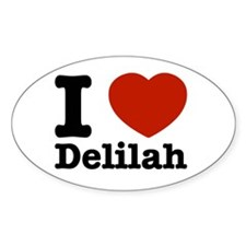 I love Delilah Decal