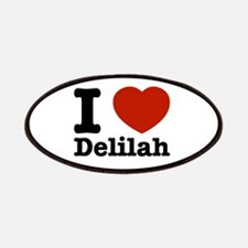 I love Delilah Patches