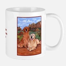Golden Retrievers Rule Mug