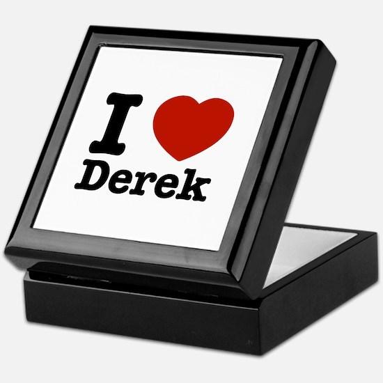 I love Derek Keepsake Box