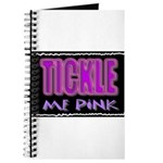 tickle me pink Journal