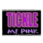tickle me pink Postcards (Package of 8)
