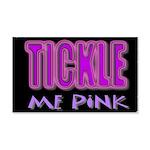 tickle me pink 22x14 Wall Peel