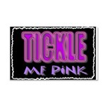 tickle me pink Car Magnet 20 x 12