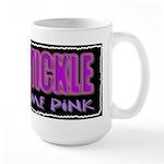 tickle me pink Large Mug