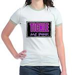 tickle me pink Jr. Ringer T-Shirt