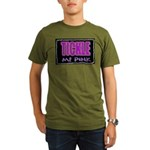 tickle me pink Organic Men's T-Shirt (dark)
