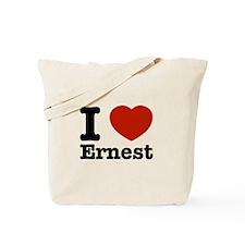 I love Ernest Tote Bag