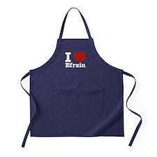 I love Efrain Apron (dark)