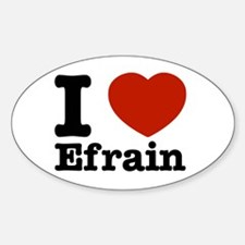 I love Efrain Decal