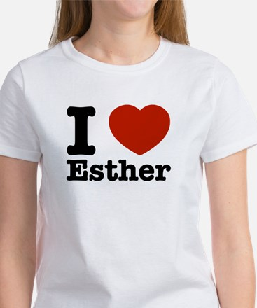 I love Esther Women's T-Shirt