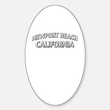 Newport Beach California Decal
